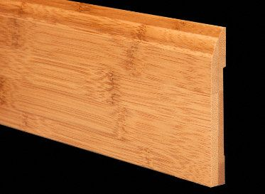 1/2&#034; x 3-1/4&#034; 6LFT Carbonized Bamboo Baseboard